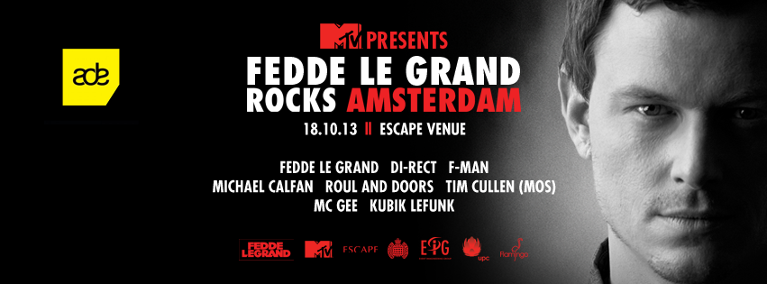 MTV Presents: Fedde Le Grand rocks Amsterdam