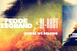 FLAM128_Fedde Le Grand and DI-RECT - Where We Belong Facebookbanner 851x315