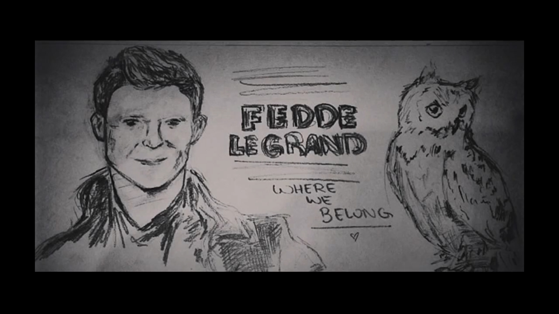 FEDDE LE GRAND & DI-RECT – WHERE WE BELONG (INSTAGRAM LYRIC VIDEO)