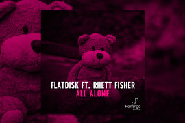 FLAM221_Flatdisk-feat.-Rhett-Fisher---All-Alone_WEBSITEPOST